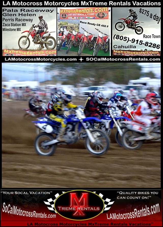 MX3 Bakersfield Dirt bke Vacation-805-915-8286?