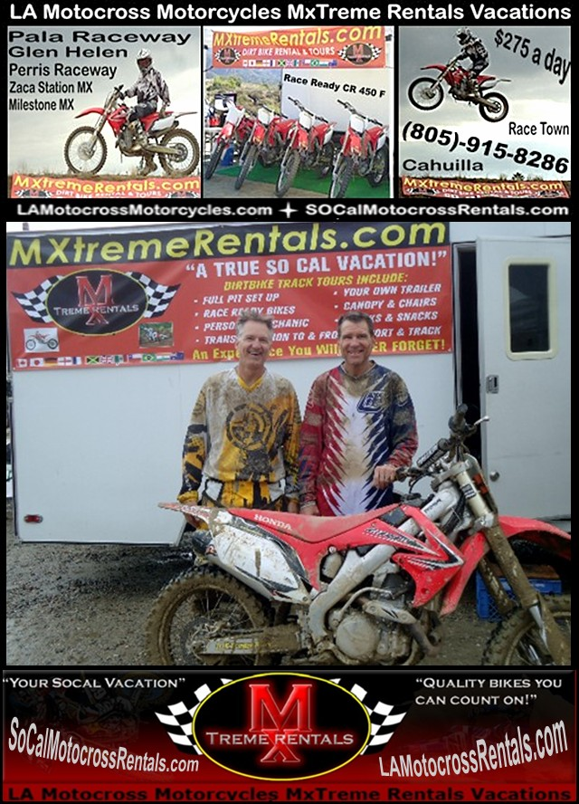 Zaca Station MX Park Buellton Motorcycle Rental-805-915-8286?